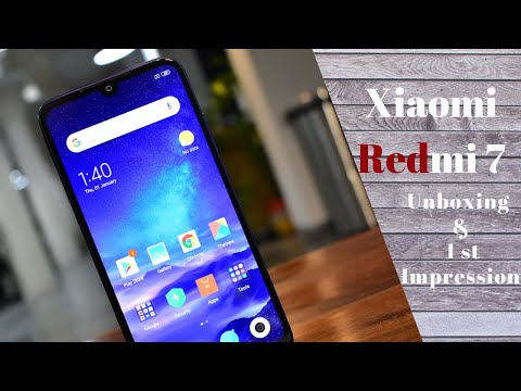 Xiaomi Redmi 7: 1st Impression & Hands on