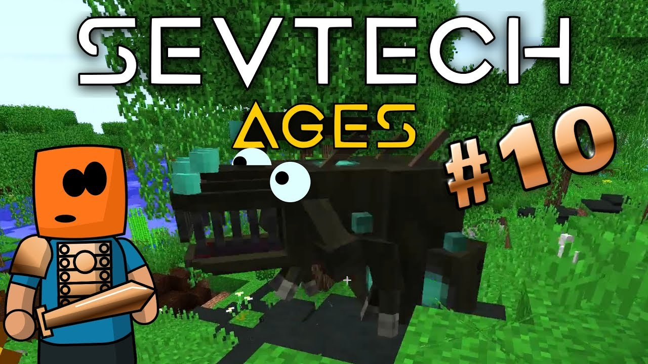 Minecraft - Shoggoth Lair - SevTech Ages #10