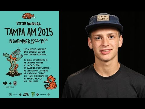AXEL CRUYSBERGHS 4TH PLACE TAMPA AM 2015