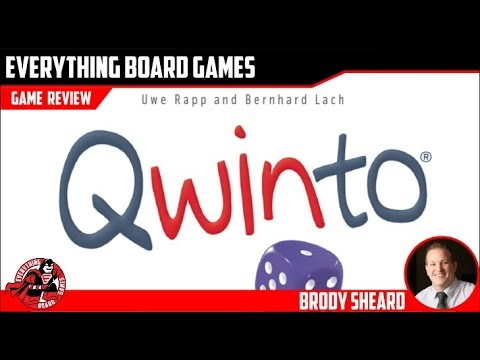 Everything Board Games Qwinto Review