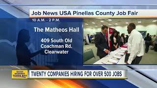 Hundreds Of Jobs At Career Fair On Wednesday