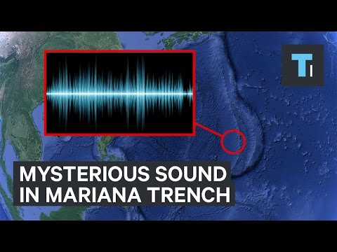 The mysterious sound in the Mariana Trench
