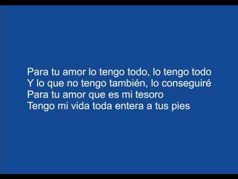 Para Tu Amor Juanes Letras