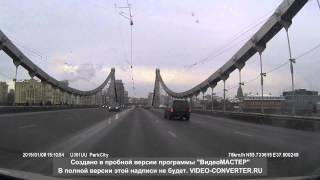 Смотреть онлайн Съемка страшной аварии, Крымский мост 8.01.2015