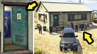 هذا المنزل السري يحرسه رجال إف آي بي شاهد ماذا يوجد وسط منه في جي تي أي 5 | GTA V Secret FIB House