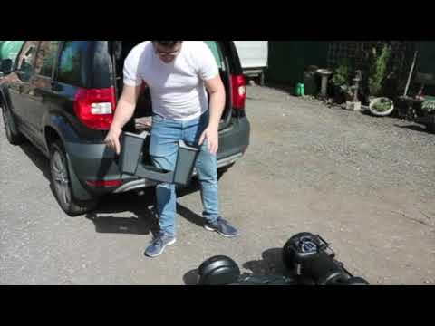 Easy unloading of the WHILL Model C powerchair from a car boot YouTube video thumbnail