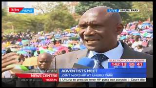 SDA churches meet for annual prayers Uhuru Park as they pray for Kenyan elections 2017