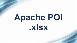 Apache Poi .xlsx