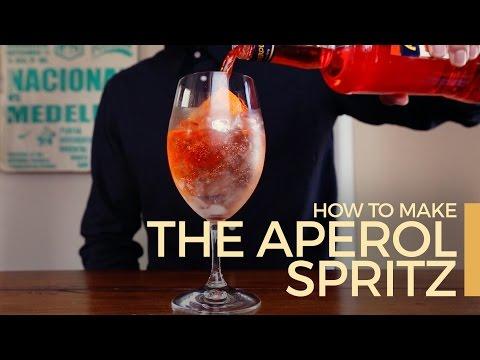 Πως να φτιάξετε Aperol Spritz σε 60 δευτερόλεπτα