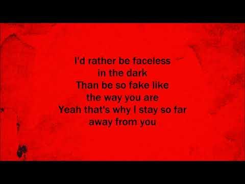 I am an Outsider - Three Days Grace (Lyrics)