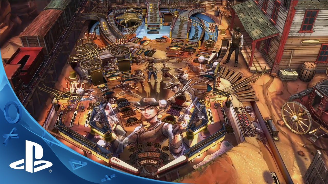 Zen Pinball 2 Iron & Steel Pack arrives this week on PS3, PS4 and PS Vita