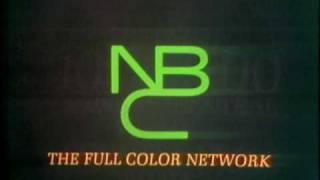 """1968 - NBC TV PROMO - """"NBC The Full Color Network"""""""