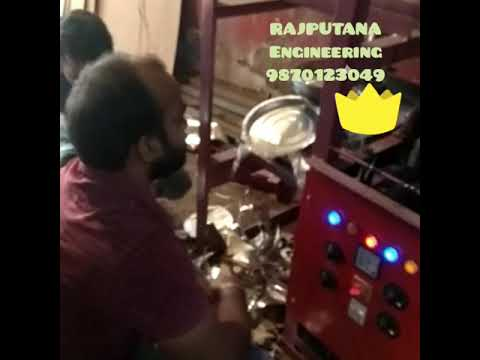 Automatic Double Die Paper Plate Machine