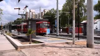 preview picture of video 'Metrotranvía de Mendoza'