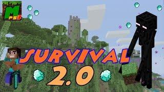 preview picture of video 'Minecraft PS3 || DESCARGAR MAPA || Survival 2.0 (Año 2084)'