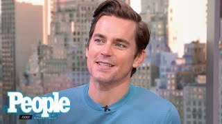 Matt Bomer On Explaining Magic Mike, His Hollywood Career To His Three Sons | People NOW | People