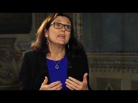 Η Επίτροπος Εμπορίου στο Euronews