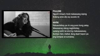 Dapithapon X Magsawang Maghintay Lyrics - Mark Ghosn and Pauline Lauron