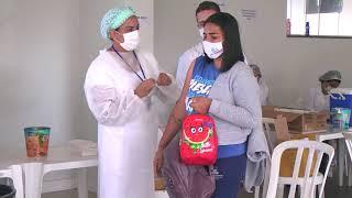 Professores começam a ser imunizados contra a Covid-19 em Patos de Minas