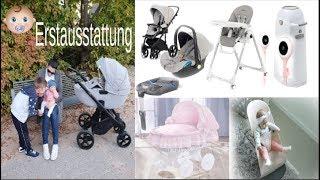 Baby Erstausstattung |Das brauchst du wirklich! Kinderwagen, Isofix, Babybjörn, Lollipop Cam
