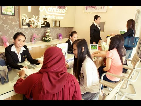 BAGAIMANA TRAINING FRONTLINER (CUSTOMER SERVICE & CASHIER) LARISSA AESTHETIC CENTER ?