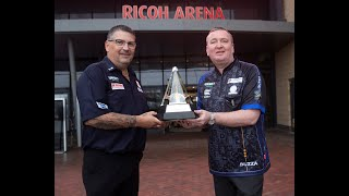 "Gary Anderson ahead of Premier League Finals: ""The pressure will be on Glen, one night makes it all"""
