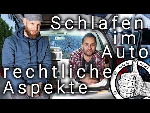 Wild Campen - Schlafen und Leben im Auto - Rechtliche Aspekte TÜV Teil 8 Auto in Mini Camper umbauen