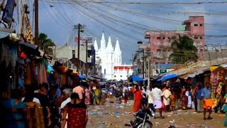 Velankanni street market, Nagapattinam