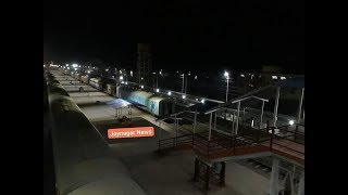 preview picture of video 'Jaynagar Railway Station || जयनगर में रात्रि का दृश्य || Indian Railway || भारतीय रेल || Internation'