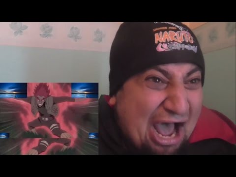 Uzumaki khan Live Reaction Naruto Shippuden Episode 419   The Eighth Gate   Of DEATH