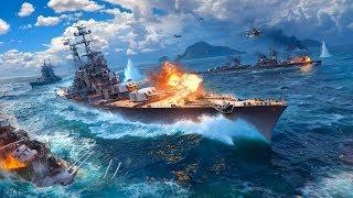 World of Warships Пятничный полупьяный рандом