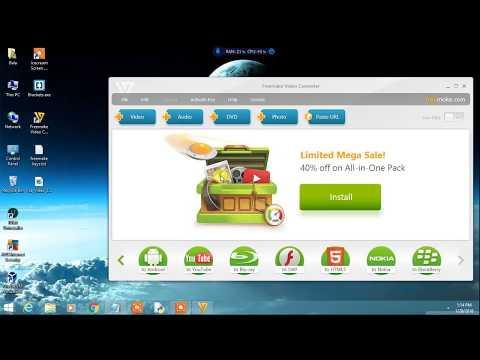 Freemake video converter remove watermark | Freemake Video Converter