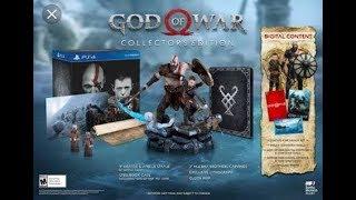 Unboxing: God of  War edición coleccionista
