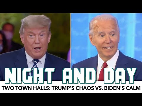 Two Town Hall Breakdown: Trump's Chaos vs. Biden's Calm