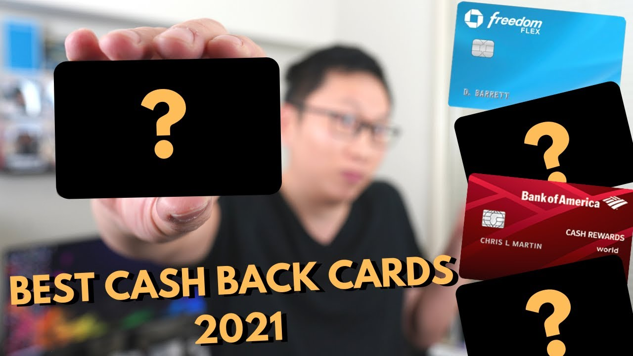 BEST Money Back Credit Cards TODAY 2021 thumbnail