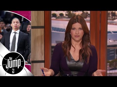 Rachel Nichols says Cavs head coach Tyronn Lue's ballpark return 'is about a week' | The Jump | ESPN