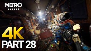 Metro Exodus Gameplay Walkthrough Part 28 - PC 4K 60FPS