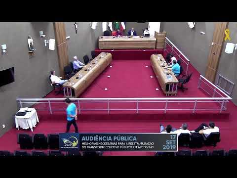 Audiência Pública (17/09/2019) - Câmara de Arcos