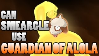 Smeargle  - (Pokémon) - Can Smeargle Sketch Nature's Madness and Use Guardian of Alola In Pokemon Sun and Moon?