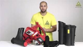 Воздуходувка IKRA Mogatec BLS 1000 видео