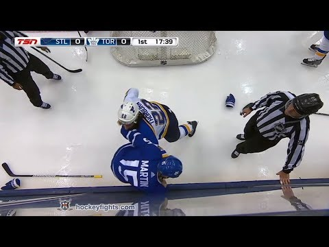 Matt Martin vs. Chris Thorburn