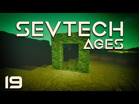 SevTech: Ages EP19 Abyssalcraft Portal + Ocean Monument + Transformation Powder