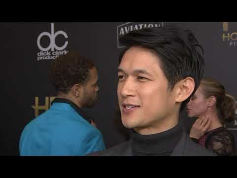 """""""Crazy Rich Asians"""" star Harry Shum Jr channeled Robin Williams to win his first-ever honor. (Jan. 9)"""