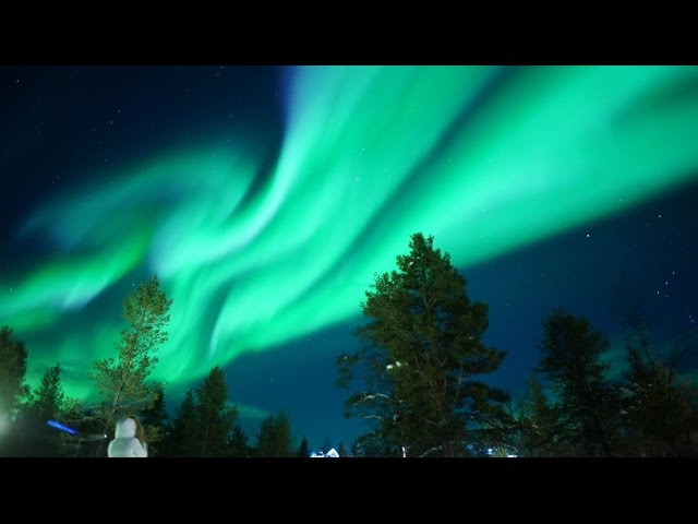 芬蘭~給你滿滿的大極光 *完整版*