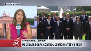 Unión Europea debate sobre el control de migrantes y Brexit