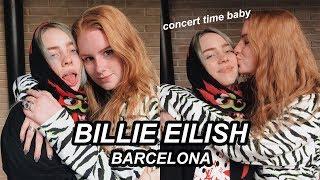 Touring with Billie Eilish | SHOW 8 Barcelona Spain