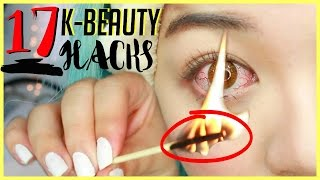 17 K-Beauty MAKEUP Hacks YOU MUST Know About!