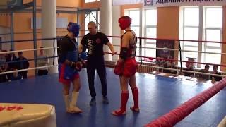Зухаво Влад - Петросян Тигран, открытый турнир по тайскому боксу, муай тай, Омск - 2016