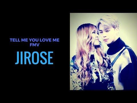 Jimin X Rose || TELL ME YOU LOVE ME {Jimin & BP Rose / Jirose}
