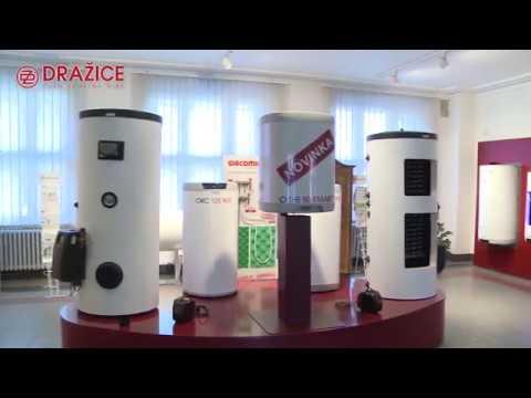 Технологія виробництва бойлерів Drazice